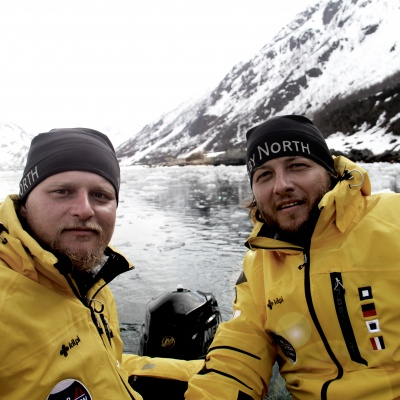 Kilpi clothing was tested by Czech sailors in the  Arctic conditions