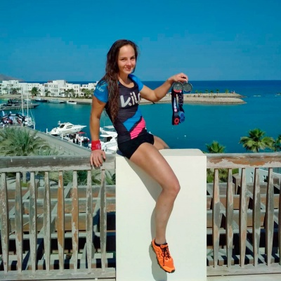 ADÉLA'S TWO SILVER MEDALS AND BRONZE FROM THE OMAN SPARTAN RACE